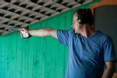 图文:男子25米手枪速射比赛 马格蒙特比赛特写