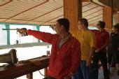 图文:男子50米手枪慢射 决赛正在进行