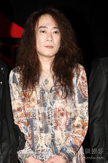 """""""X-JAPAN""""成员PATA抵台为周六的演唱会暖身"""