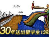 2008年中国出国留学人数达18万