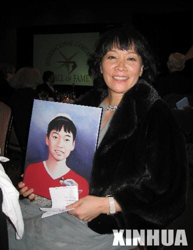 体操名人堂成员马燕红 中国第一个体操奥运冠军