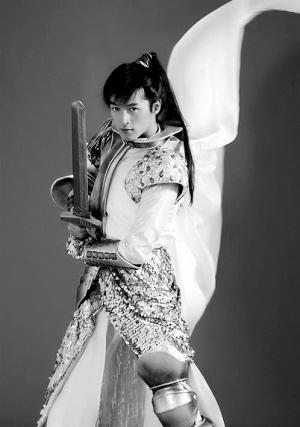 胡歌《仙剑3》造型