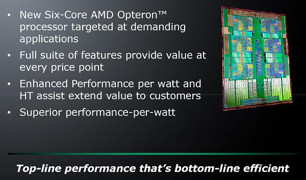 台北电脑展09:AMD发布全球领先6核CPU