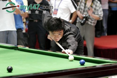 英赛即将开战 搜狐体育赛前专访丁俊晖图片