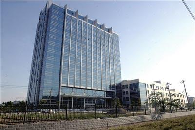 为成立通州区新中医院而建起的大楼,目前已基本完工,但一直未投入使用
