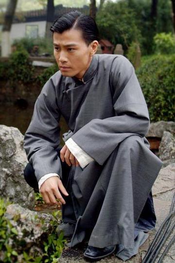 许绍洋长衫造型