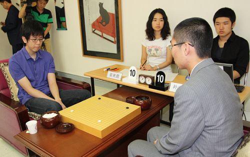 图文:富士通杯八强战 焦点战朴文��对阵姜东润