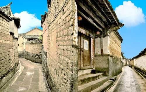 云南和顺古镇旅游图片