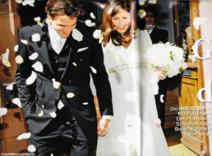 2009年4月19日,两人终成美眷。