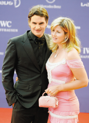 2006年5月23日,两人一起出席劳伦斯奖颁奖仪式。