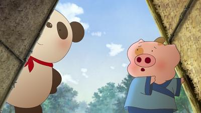 """小猪麦兜与武当山的""""功夫熊猫"""""""