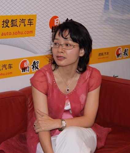 通利华汽车总裁李玉娟接受搜狐汽车专访