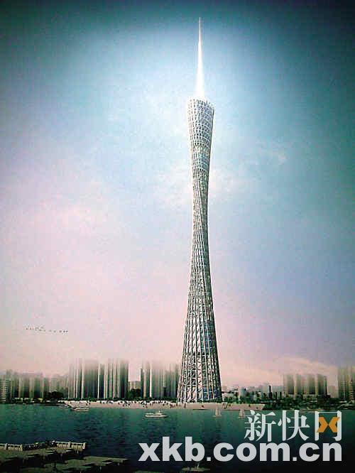 广州新电视塔可被起名为搜狐蛮腰(图)-珠光黄鳝的情趣用法图片
