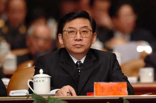 中共中央批准于伟国同志担任厦门市委书记