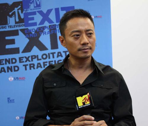 张涵予接受MTV采访