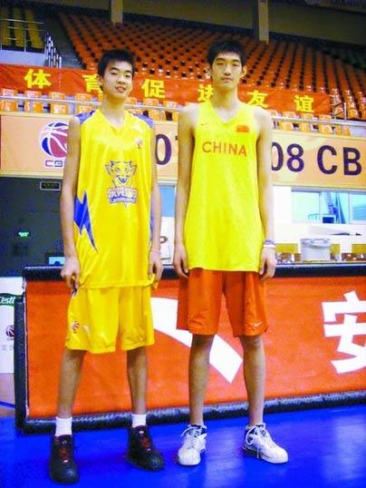 Li Muhao Yao Ming Mania View topic Big men from China who