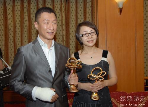 图:上海电视节白玉兰颁奖- 孙红雷宋丹丹
