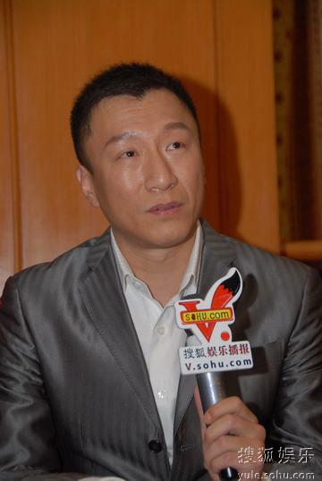 图:上海电视节白玉兰颁奖- 孙红雷访谈