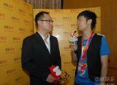 图:上海电视节白玉兰颁奖-滕华�|接受采访