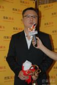 图:上海电视节白玉兰颁奖- 采访滕华�|