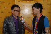 图:上海电视节白玉兰颁奖- 采访姜伟