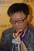 图:上海电视节白玉兰颁奖- 采访最佳编剧姜伟