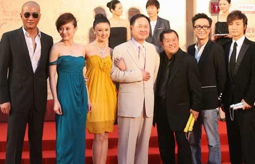 图:众星亮相上海电影节红地毯