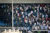 图文:[中超]国安1-0天津 特警进场维持秩序