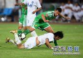 图文:[中超]国安1-0天津 铁腰马季奇