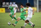 图文:[中超]国安1-0天津 陶伟控球
