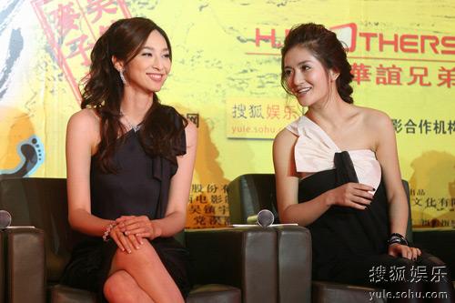 吴佩慈与谢娜