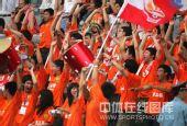 图文:[中甲]广东3-1南昌 现场球迷激情