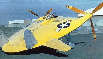 美国军方在战后研制的部分碟状飞行器