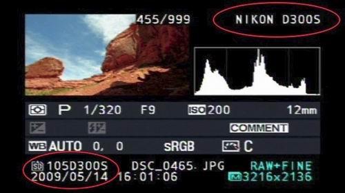 劲爆! 尼康D300s单反真机截屏图片泄露