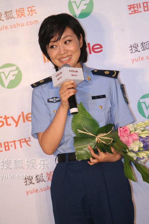 闫妮在刚刚结束的上海电视节上拿下大奖