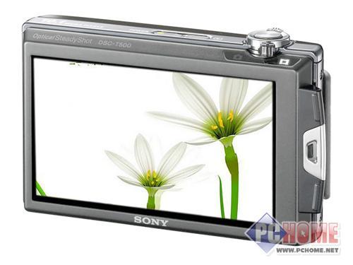 点击查看本文图片 索尼 DSC-T500 - 超大触摸屏幕 个性索尼T500再次降价