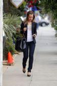 好莱坞一周潮人街拍:米娜-苏瓦里