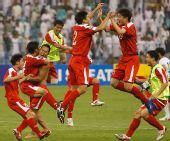 朝鲜客场0-0逼平沙特 43年首晋级世界杯决赛圈