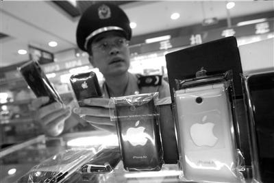 北京工商清查中关村假冒iPhone手机