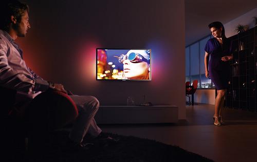 飞利浦流光溢彩震撼影院 突破传统液晶电视新境界