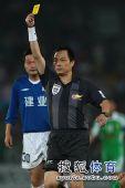 图文:[中超]北京0-0河南 黄牌加身