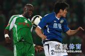 图文:[中超]北京0-0河南 保罗很神勇