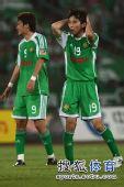 图文:[中超]北京0-0河南 杨昊很懊恼