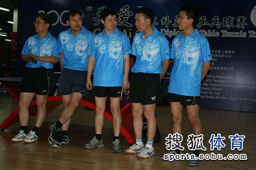 中国外交部的运动员代表