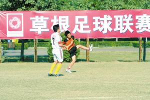 深圳草根足球联赛已初具规模