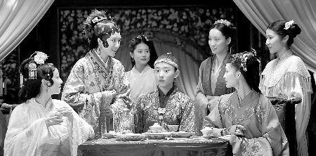 元妃省亲之家宴拍摄现场