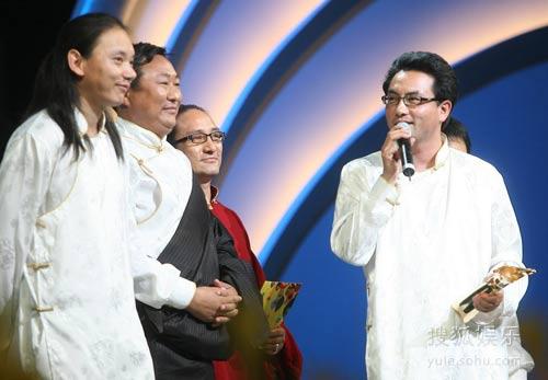 图:评委会大奖《寻找智美更登》导演发言