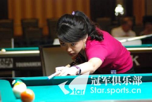潘晓婷在半决赛中不敌费雪