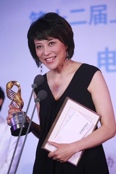 岳红凭借在《走着瞧》中的出色表演,获得最受媒体关注女演员奖