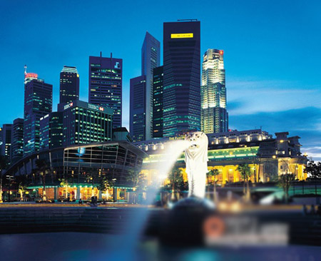 一踏上新加坡的国土第一感觉就是:绿